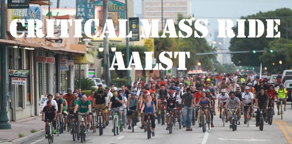 29 06 17 Critical Mass Ride Aalst