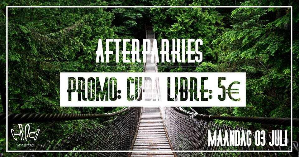 29 06 17 Cirque Mystic Afterparkie Cuba Libre edition