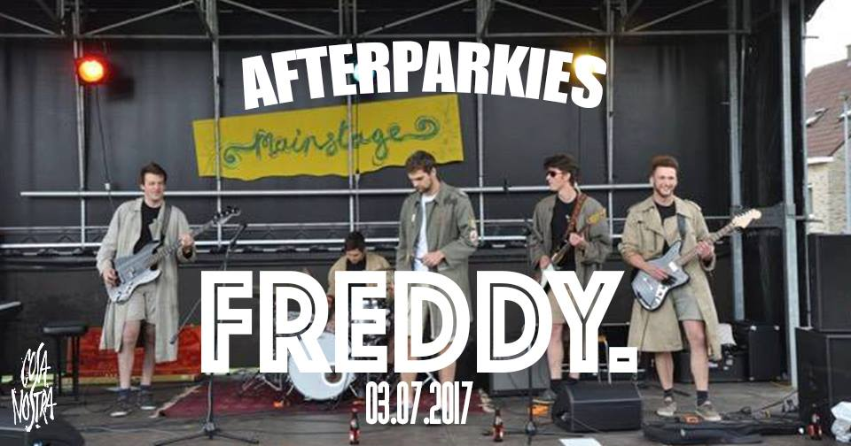 29 06 17 Freddy. Cosa Afterparkies