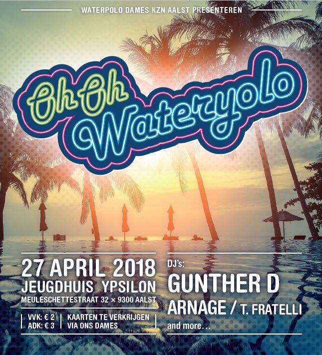 18 04 26 Oh Oh Wateryolo JH Ypsilon Vrijdag 27 april 2018