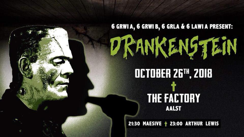 18 10 25 Drankenstein The Factory Vrijdag 26 oktober 2018