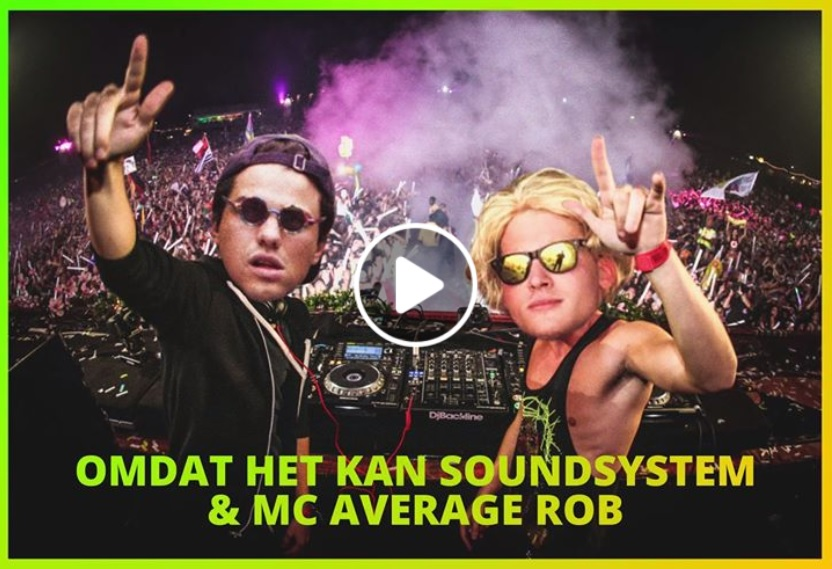 Cinema Heropening Omdat Het Kan Soundsystem MC Average Rob Screenshot