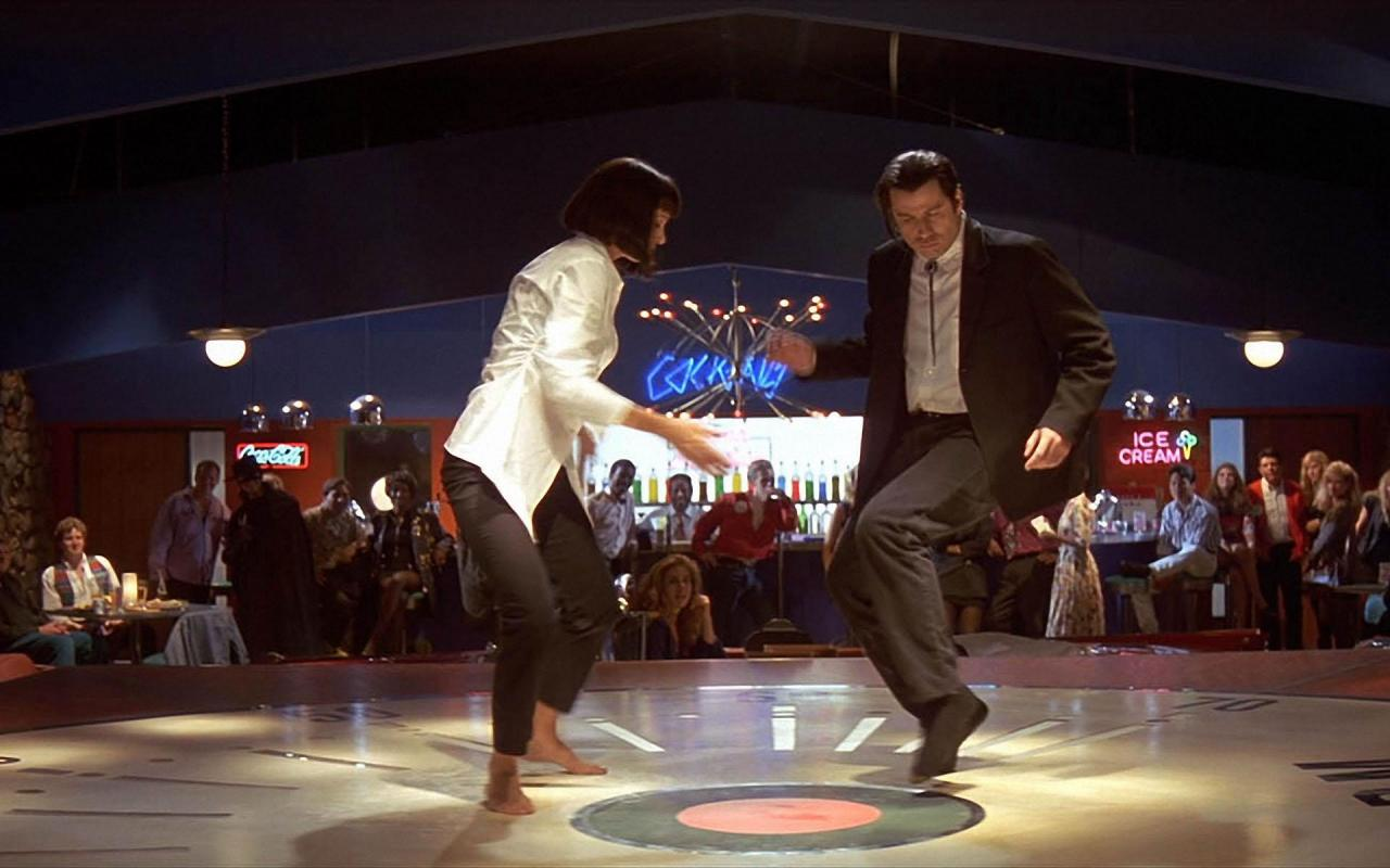 StuMo Pulp Fiction Jack Rabbit Slim dance scene